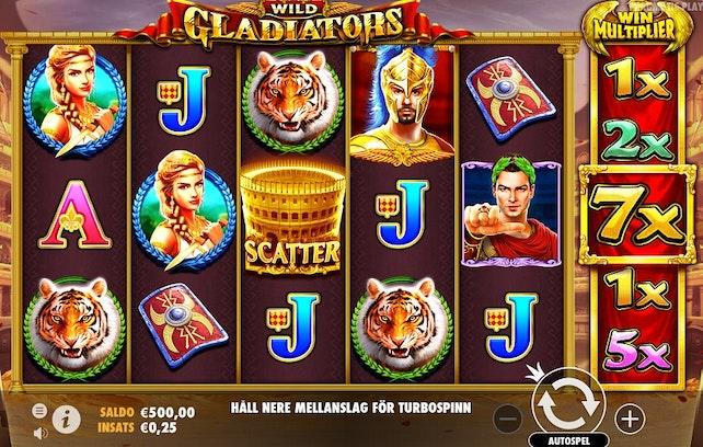 Wild Gladiators från Pragmatic Play