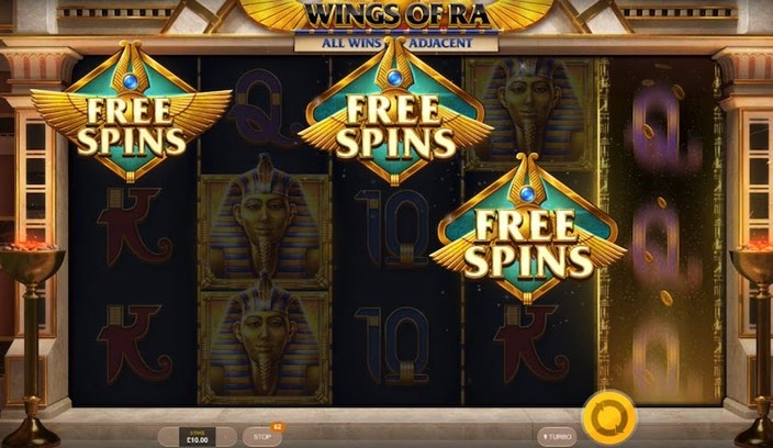 Wings of Ra från Red Tiger Gaming