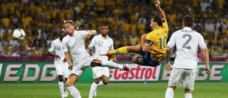 Zlatan Ibrahimovic är en fröjd att se spela fotboll
