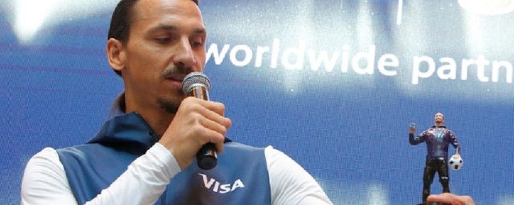 Zlatan på plats i Ryssland