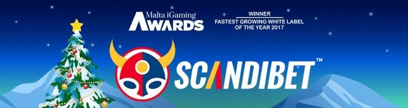 ScandiBet har vunnit pris