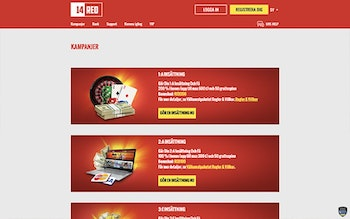 14Red Casino Bonus