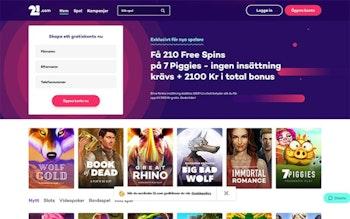 21.com Casino