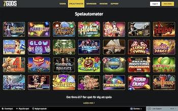 7Gods Casino Spel