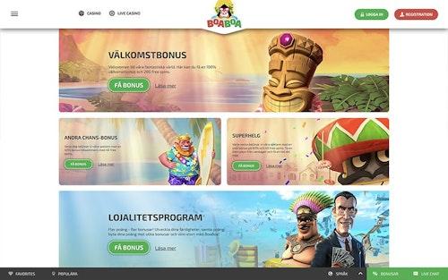 BoaBoa Casino Bonus