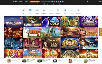 Casino-X Spel