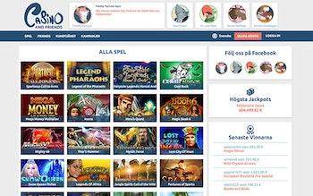 CasinoAndFriends Spel
