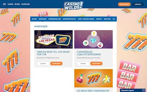 CasinoWilds Bonus