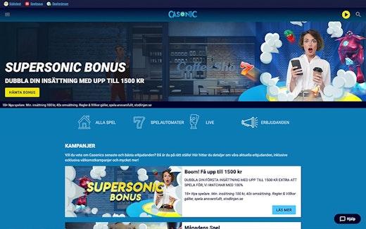 Casonic Casino Bonus