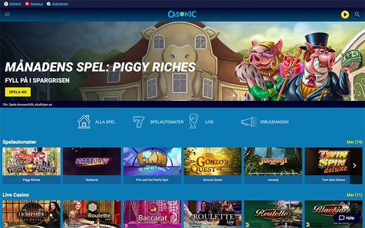 Casonic Casino Spel