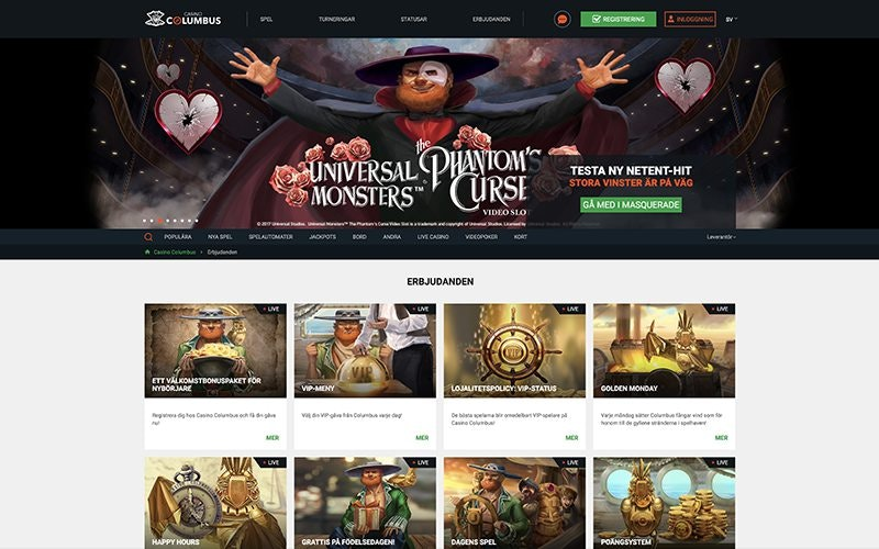 Columbus Casino Bonus