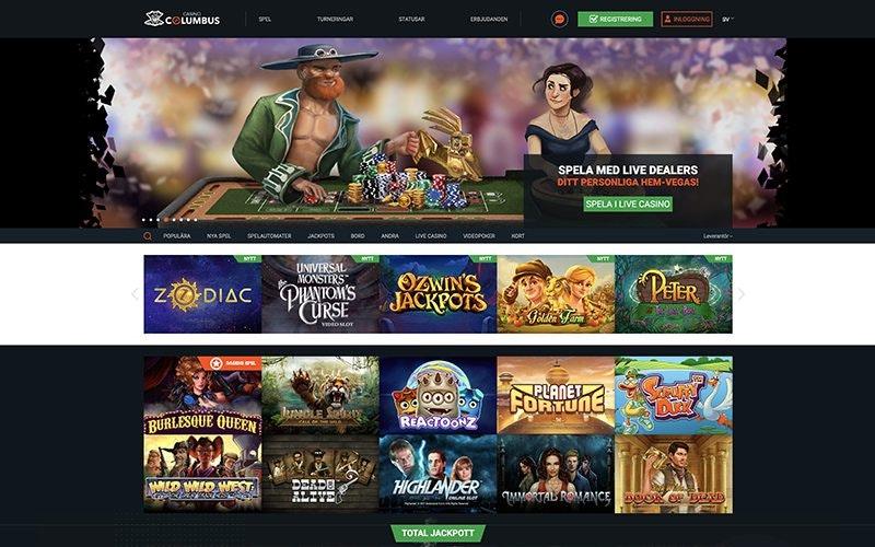 Columbus Casino Spel