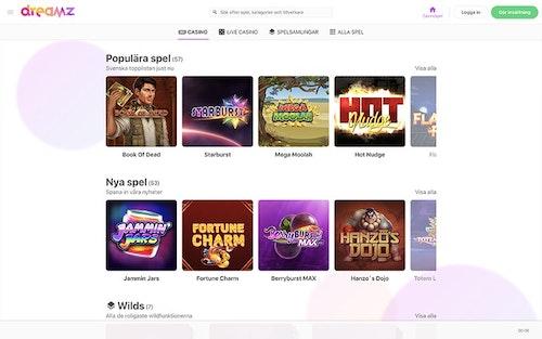 Dreamz Casino Spel