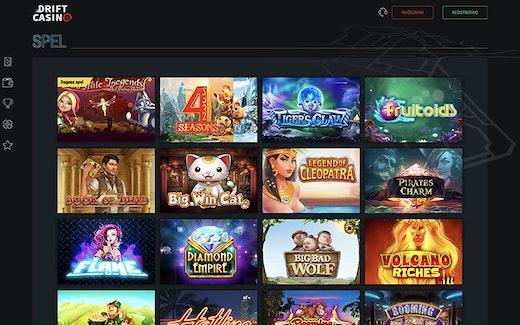 Drift Casino Spel