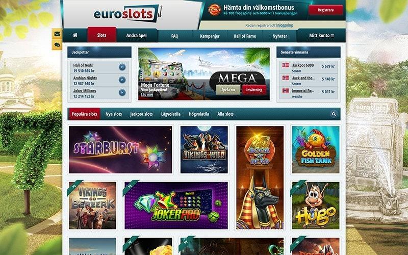 EuroSlots Spel