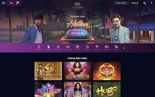 Genesis Casino Spel