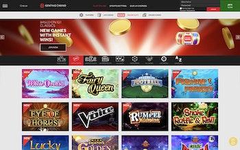 Genting Casino Spel