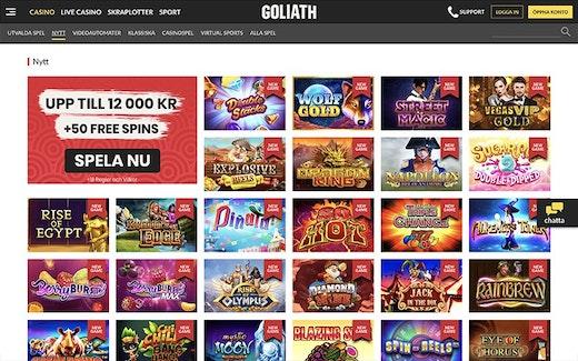 Goliath Casino Spel