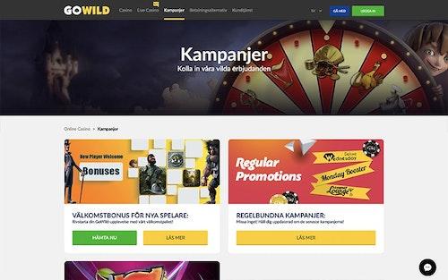 GoWild Casino Bonus
