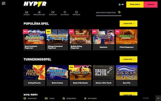 Hyper Casino Spel