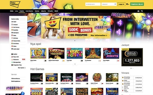 Interwetten Casino Spel