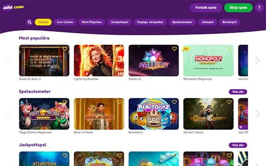 Jalla Casino Spel