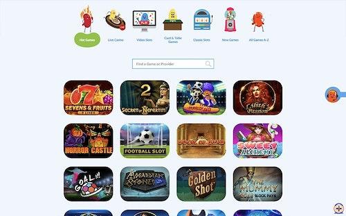 JellyBean Casino Spel