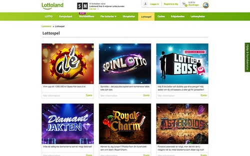 Lottoland Spel