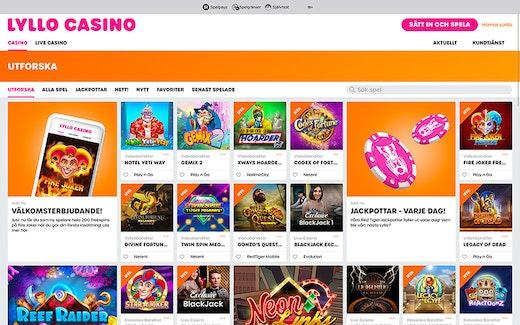 Lyllo Casino Spel