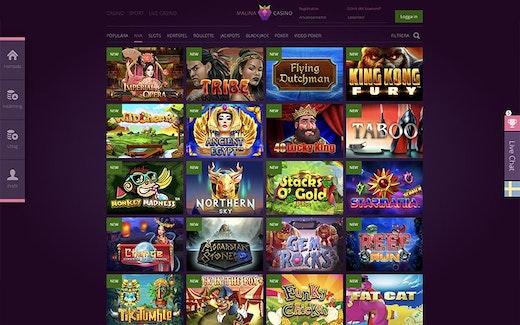 Malina Casino Spel