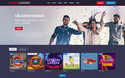 Maria Casino Spel