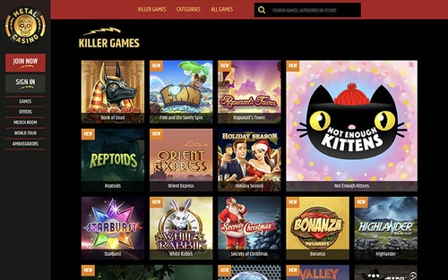 Metal Casino Spel