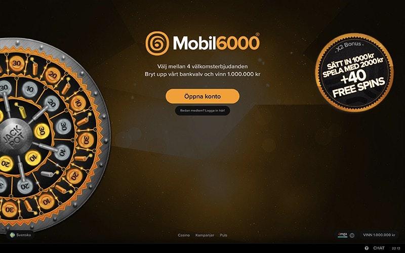 Mobil6000 Casino » Ett oerhört spännande spelbolag - bra i mobilen 713244cbb0491