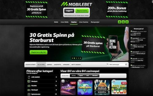 Mobilebet Spel