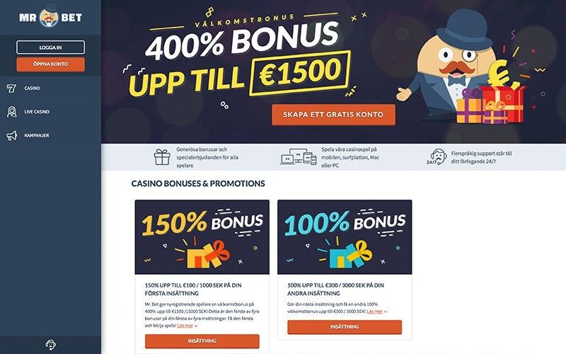 Mr Bet Bonus