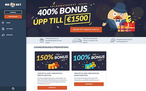Mr Bet Bonus