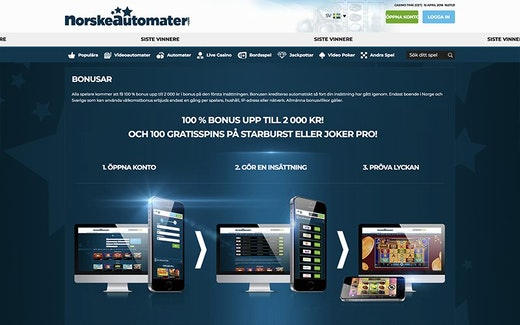 Norske Automater Bonus