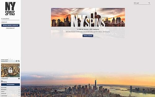 NYspins Bonus