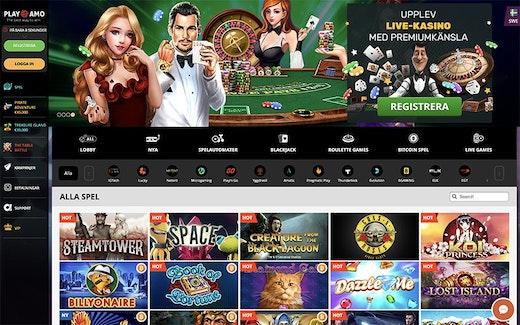 PlayAmo Casino Spel