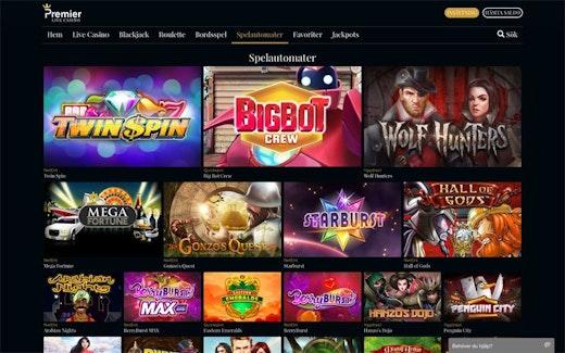 Premier Live Casino Spel