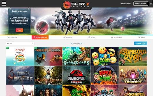 SlotV Casino Spel