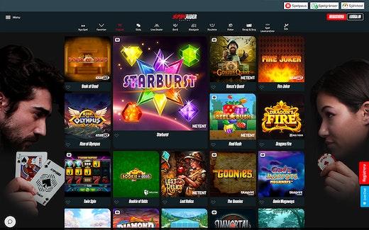 Spin Rider Casino Spel