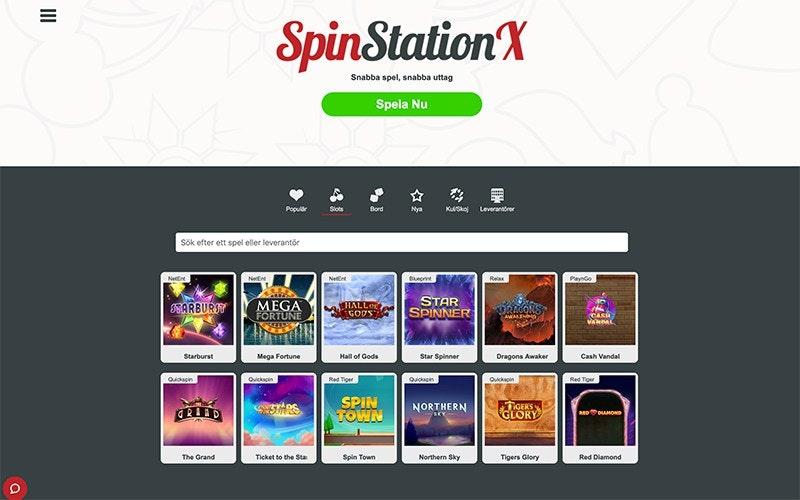 SpinStation Spel