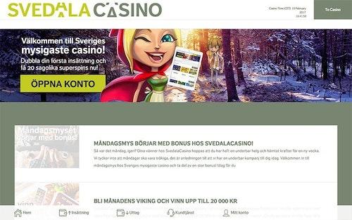 Svedala Casino Bonus