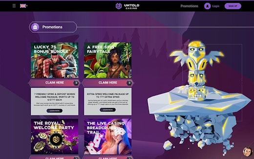 Untold Casino Bonus
