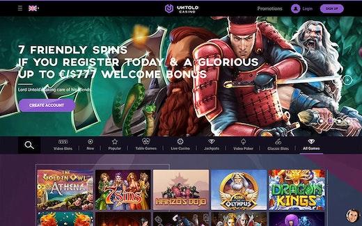 Untold Casino Spel