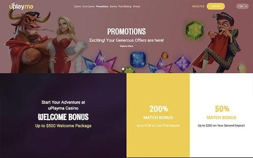uPlayma Bonus