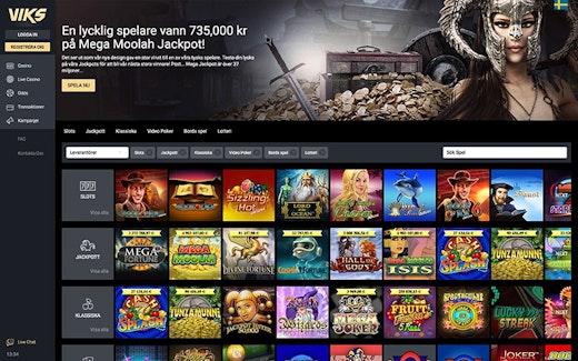 Viks Casino Spel