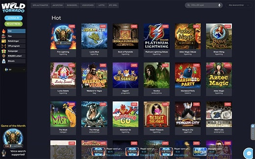 Wild Tornado Casino Spel