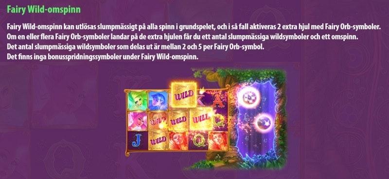 Omspinn i Fairy Gate